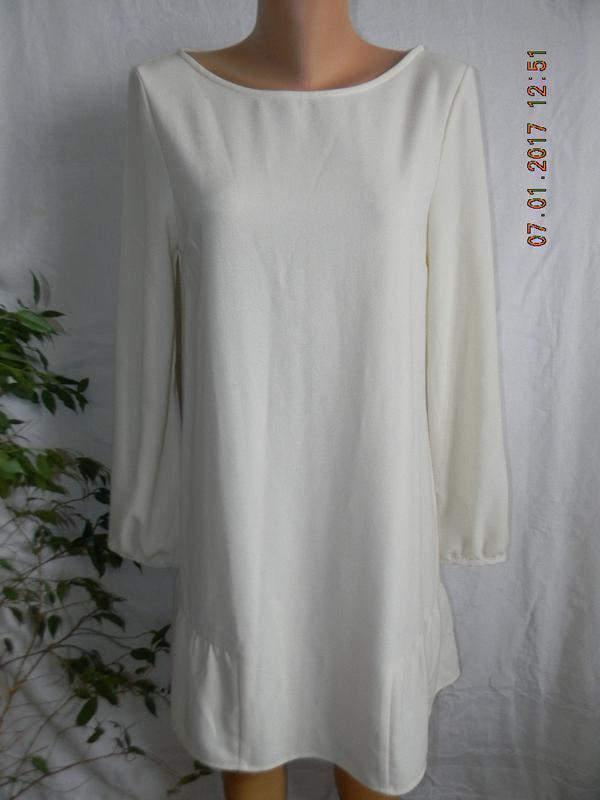 Платье с оборкой asos