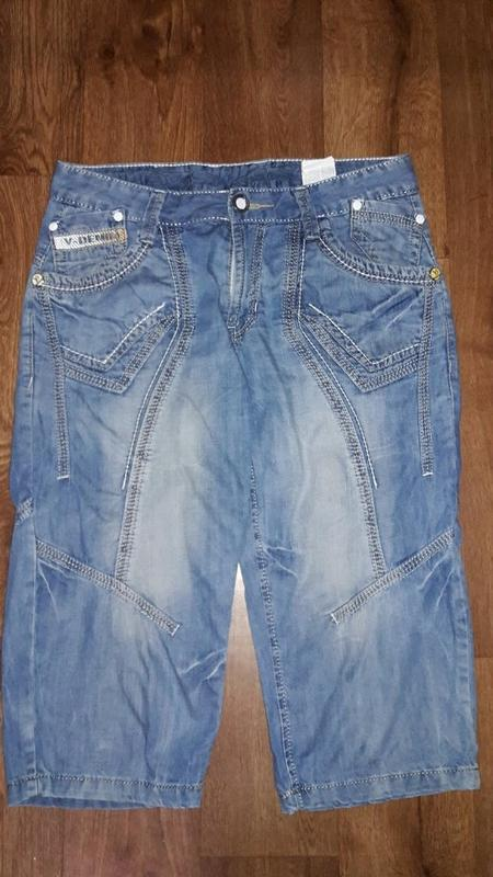 🔥стильные мужские джинсовые бриджи, шорты varxdar🔥