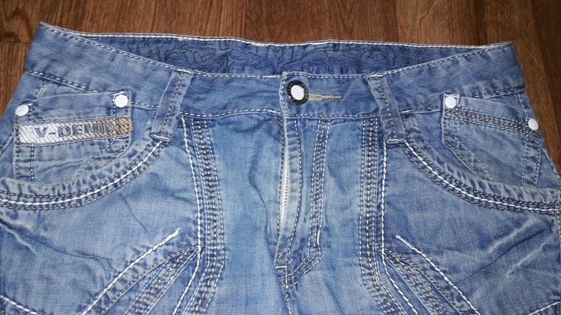 🔥стильные мужские джинсовые бриджи, шорты varxdar🔥 - Фото 2