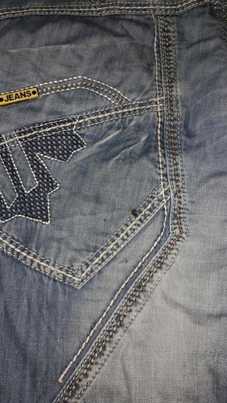 🔥стильные мужские джинсовые бриджи, шорты varxdar🔥 - Фото 4