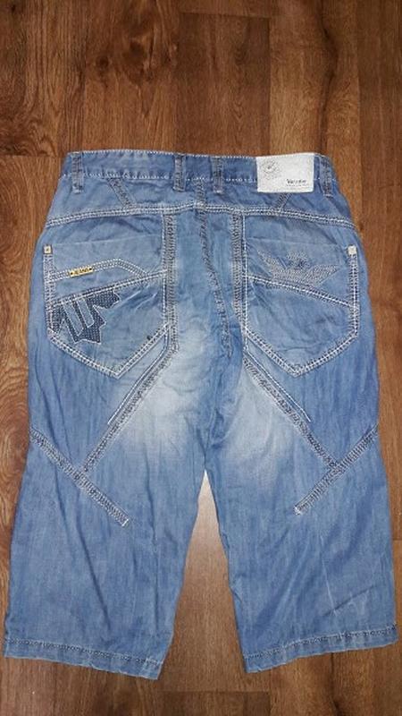 🔥стильные мужские джинсовые бриджи, шорты varxdar🔥 - Фото 5