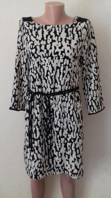 Осеннее красивое стильное платье zara
