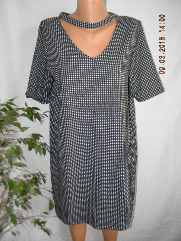 Новое платье в клетку river island