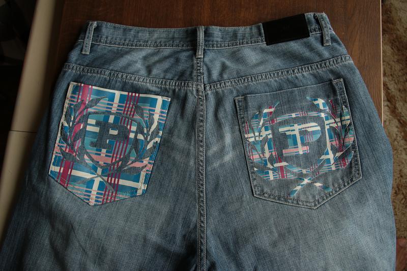Мужские рэпперские шорты phat farm - Фото 2