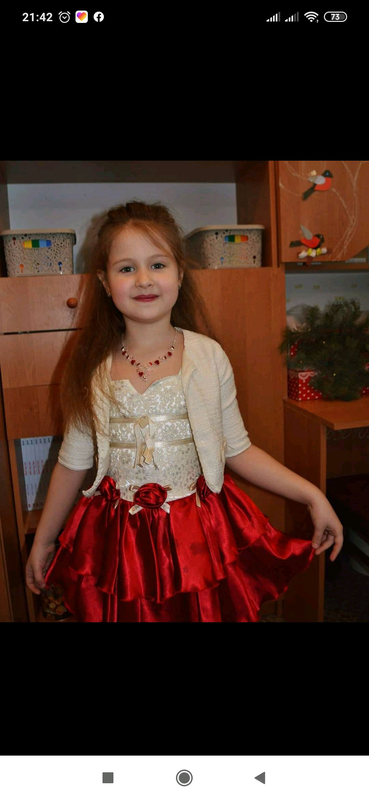 Шикарное платье девочке - Фото 4