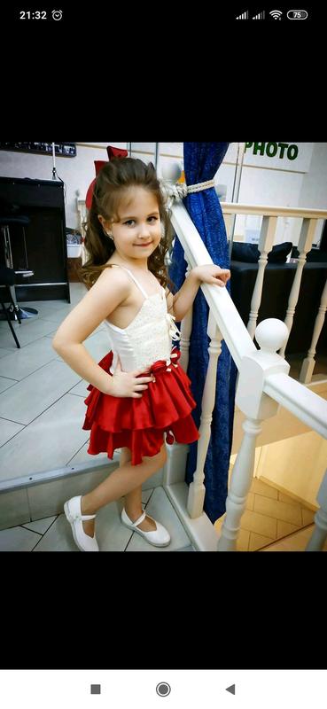 Шикарное платье девочке - Фото 3