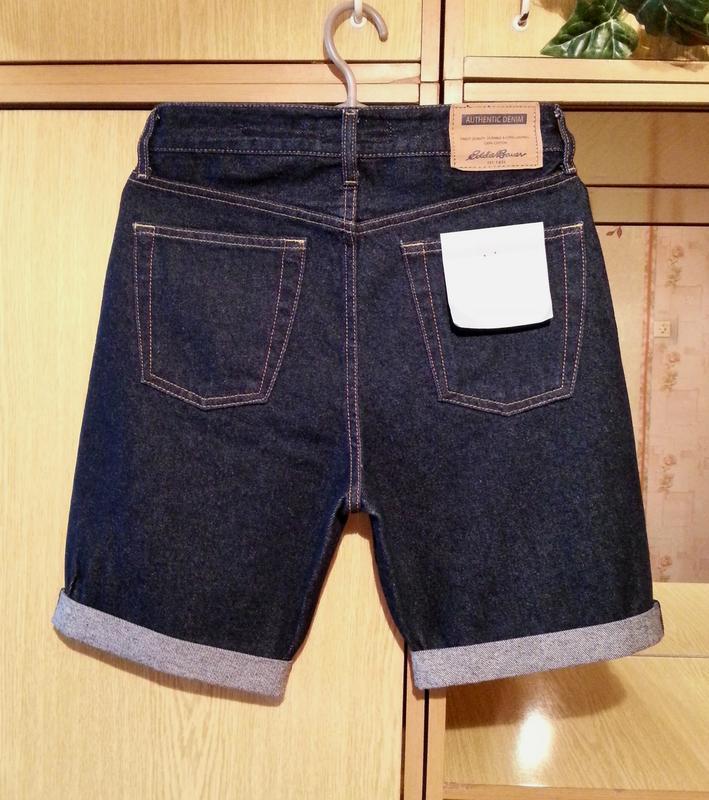 Джинсовые шорты,бриджи eddie bauer.оригинал. - Фото 2