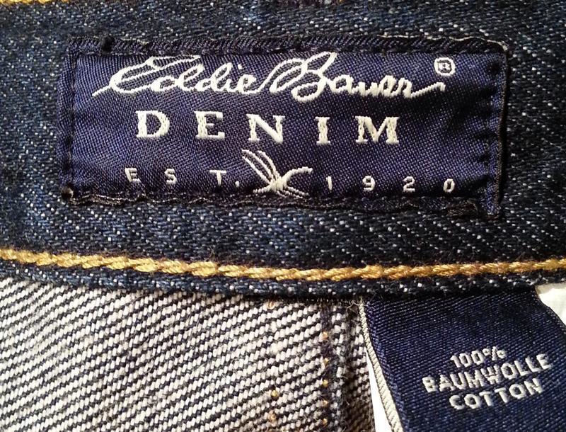 Джинсовые шорты,бриджи eddie bauer.оригинал. - Фото 3