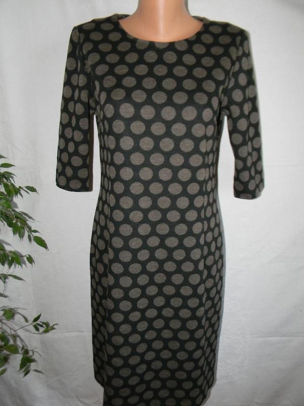 Теплое платье в горошек john lewis