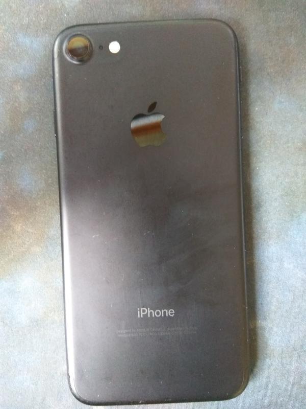 Apple iPhone 7 32GB Neverlock (Black Matte) - Фото 7