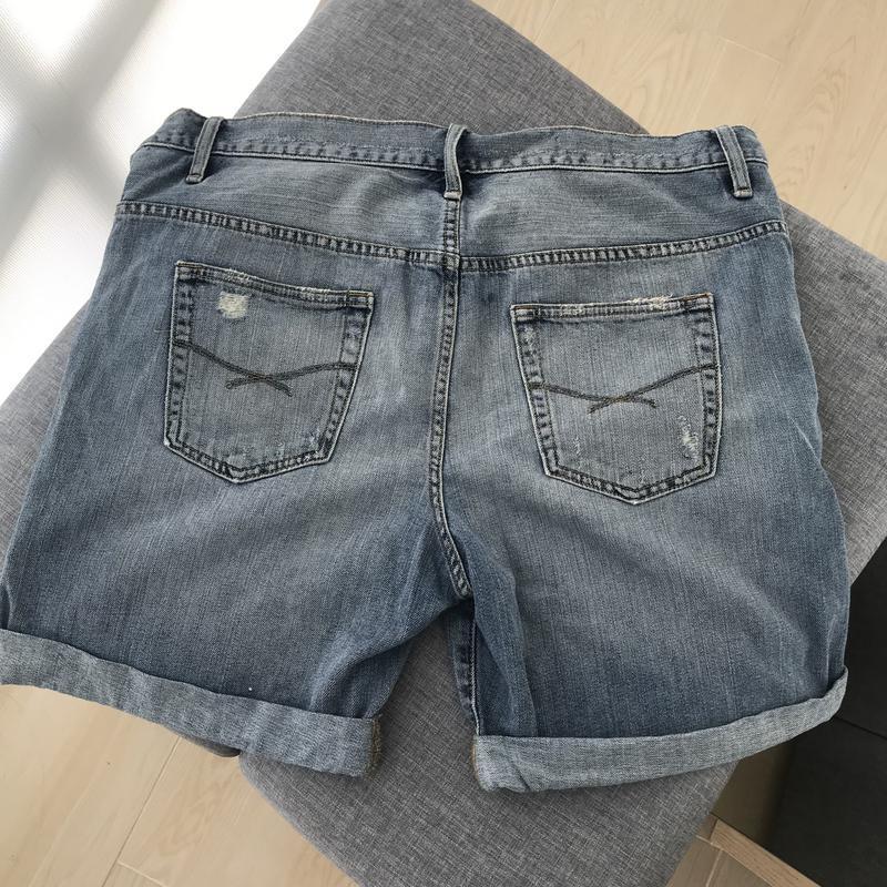 Шорти джинсові gap шорты джинсовые - Фото 2