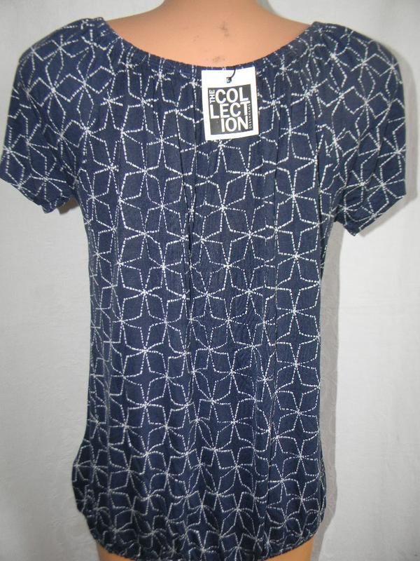 Новая трикотажная блуза - Фото 3