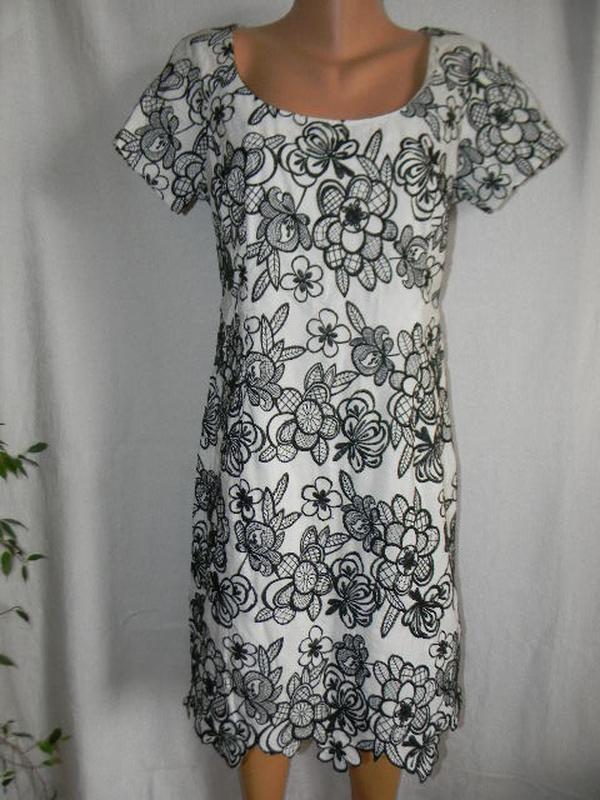 Новое платье с вышивкой moonsoon 12-14р