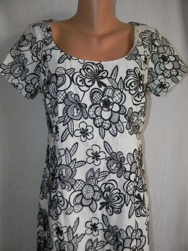 Новое платье с вышивкой moonsoon 12-14р - Фото 2