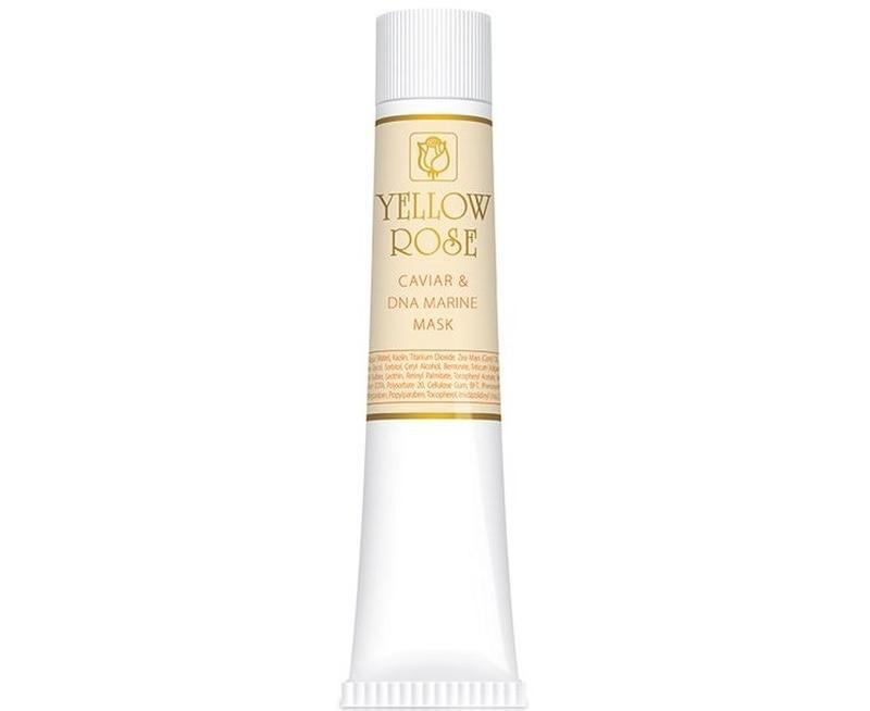 Yellow rose caviar & marine dna face mask очищающая маска-пленка