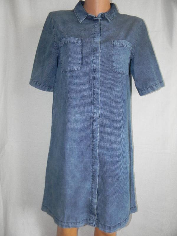 Джинсовое платье рубашка asos