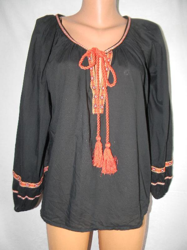 Новая блуза вышиванка h&m