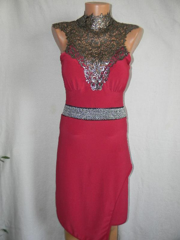 Новое платье с кружевом