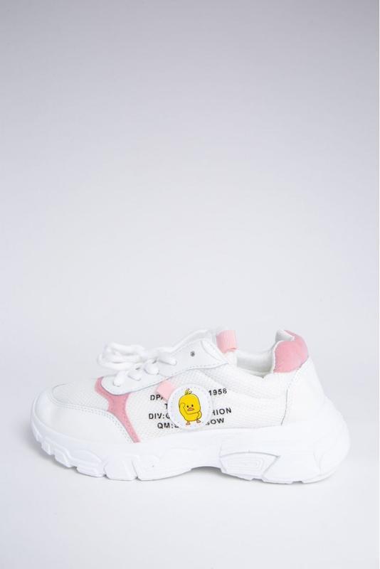 ????кроссовки женские  цвет бело-розовый/35/36/37/38/39/новые!!????