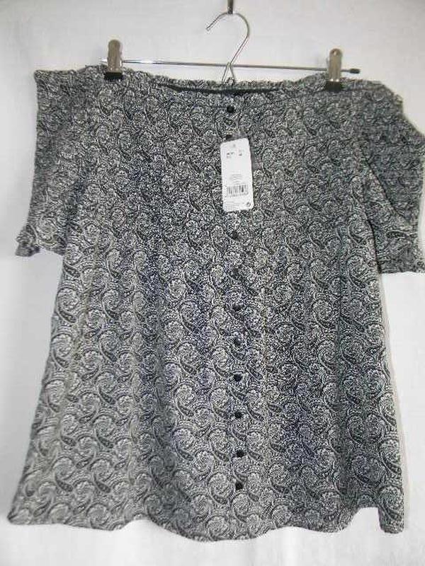Новая блуза с открытыми плечами
