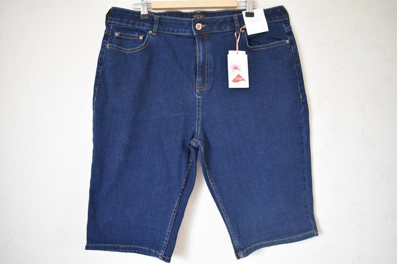 Новые джинсовые шорты большого размера