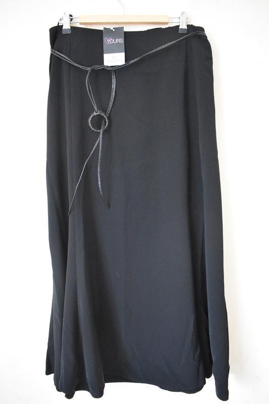 Красивая новая юбка с пояском большого размера