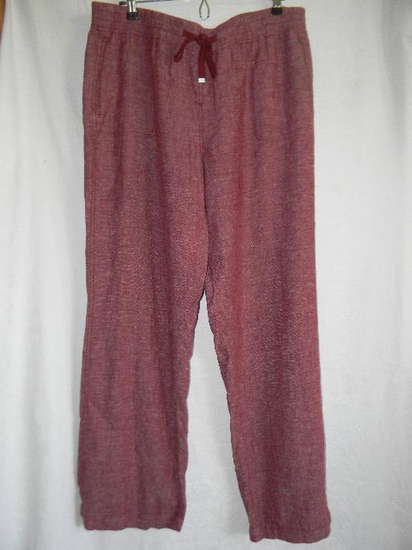 Новые брюки лен