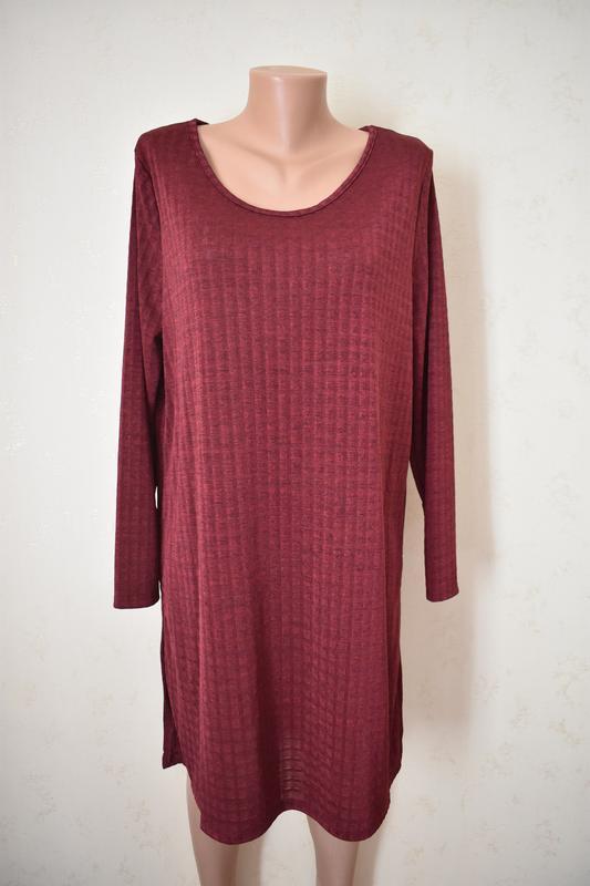 Новое платье-туника большого размера