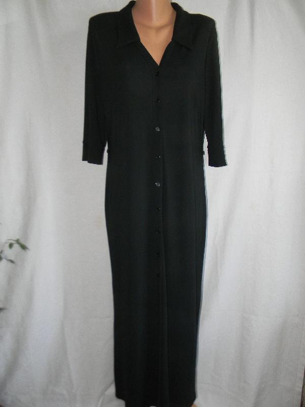 Платье рубашка большого размера