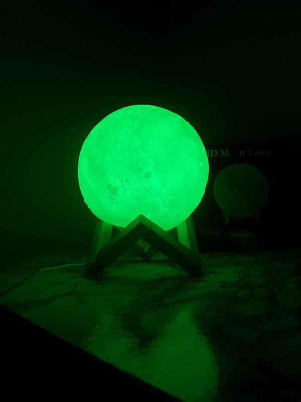 ХИТ! Ночник Луна Magic 3D Moon Light светильник лампа - Фото 7