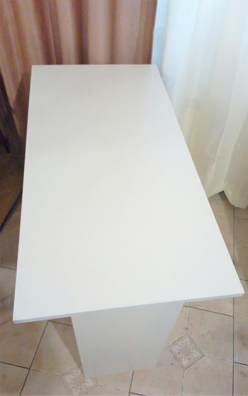 Новый стол письменный офисный стол белый - Фото 3