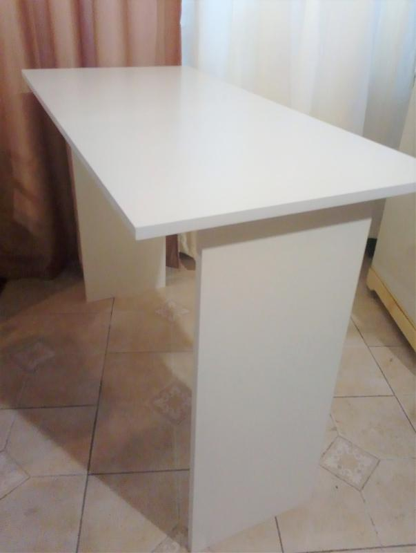 Новый стол письменный офисный стол белый - Фото 4