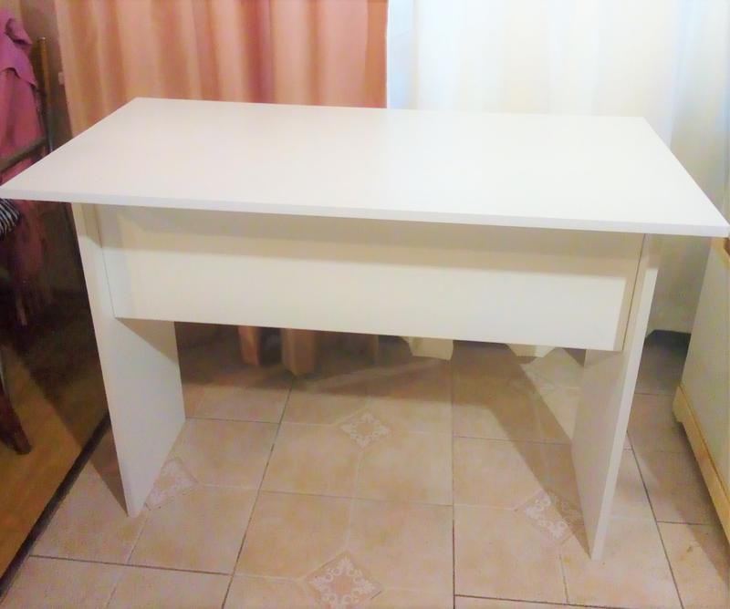 Новый стол письменный офисный стол белый - Фото 5