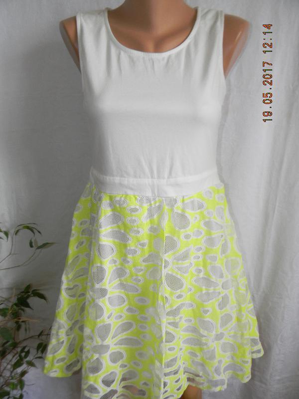 Летнее яркое платье daniti