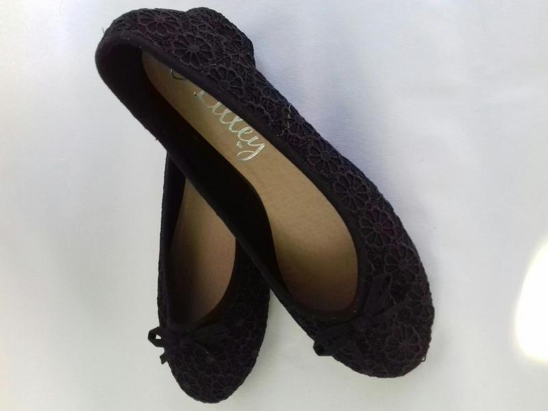 Новые кружевные туфельки