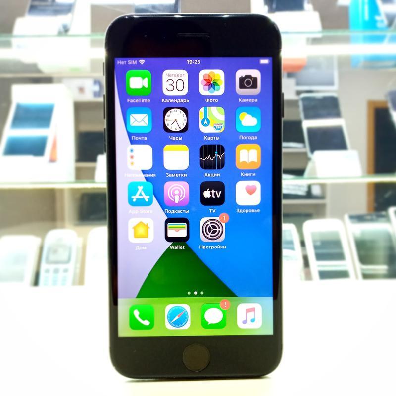 Телефон Iphone 7 128Gb Black Neverlock