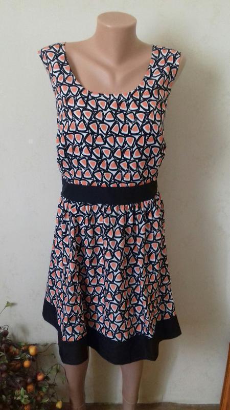 Красивое платье с принтом asos