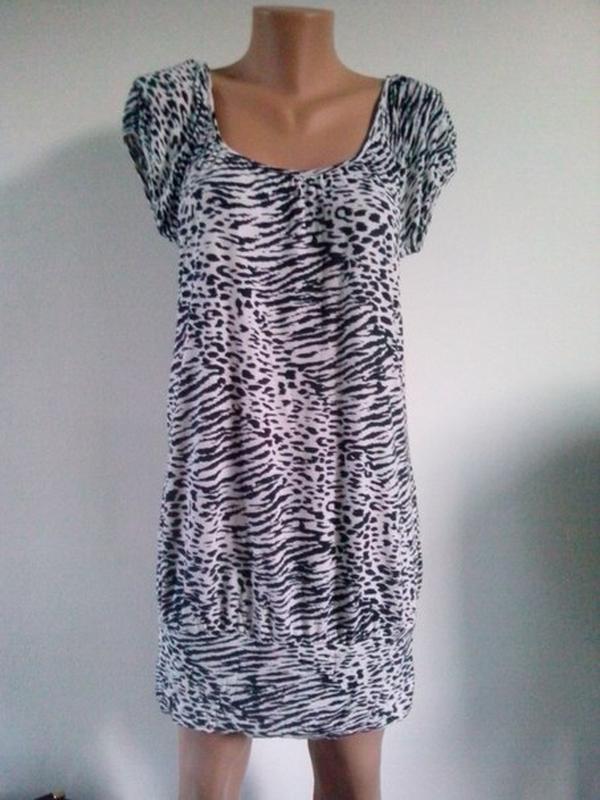 Платье-туника летнее с принтом,подарю при покупке 3 вещей!!!!