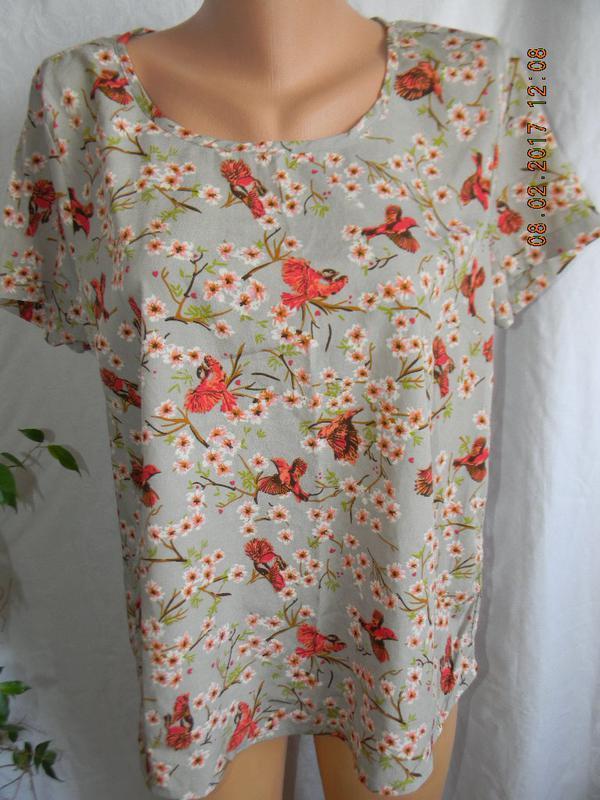 Блуза с цветочным принтом george