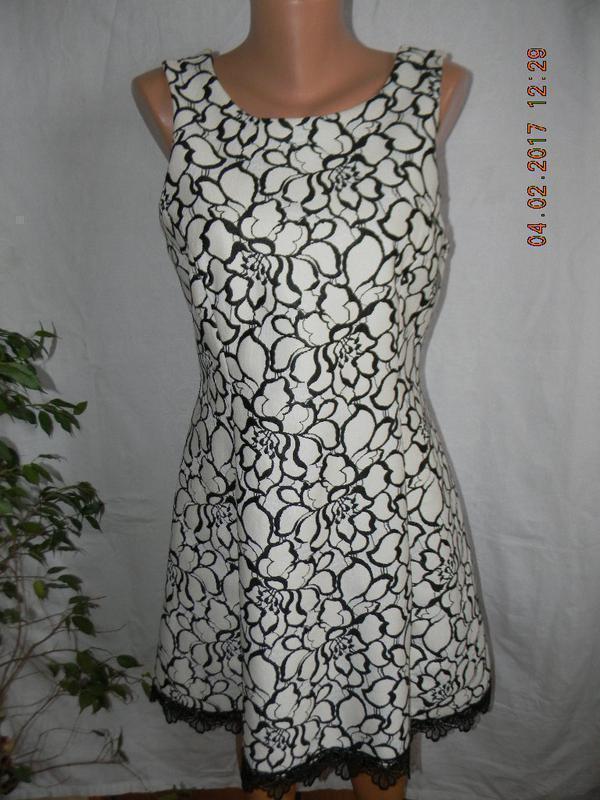 Красивое кружевное платье river island
