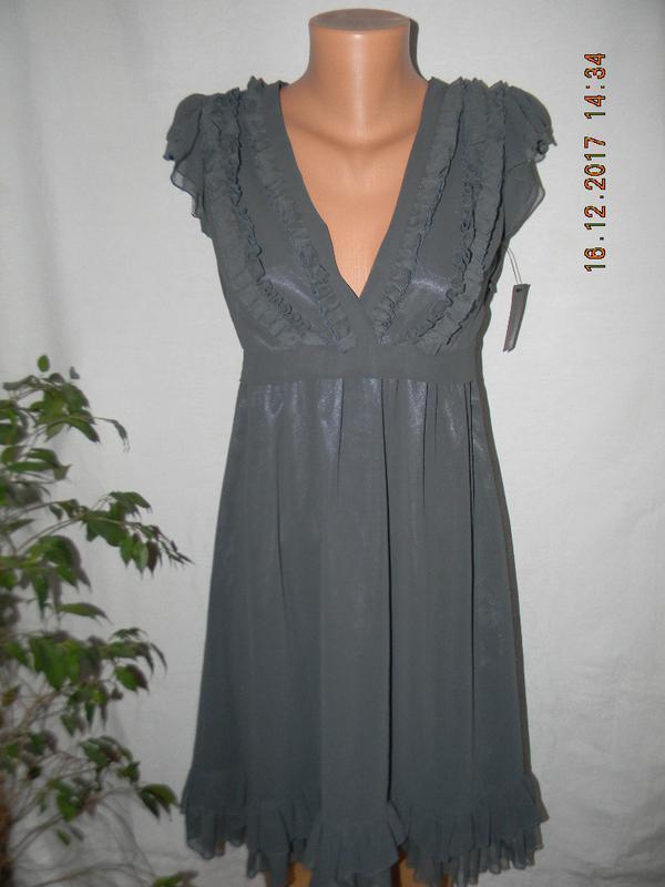 Новое платье с оборками next