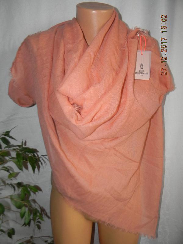 Тонкий ноый  шерстяной шарф-палантин
