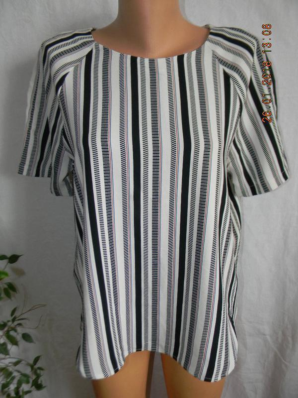 Новая блуза в полоску h&m