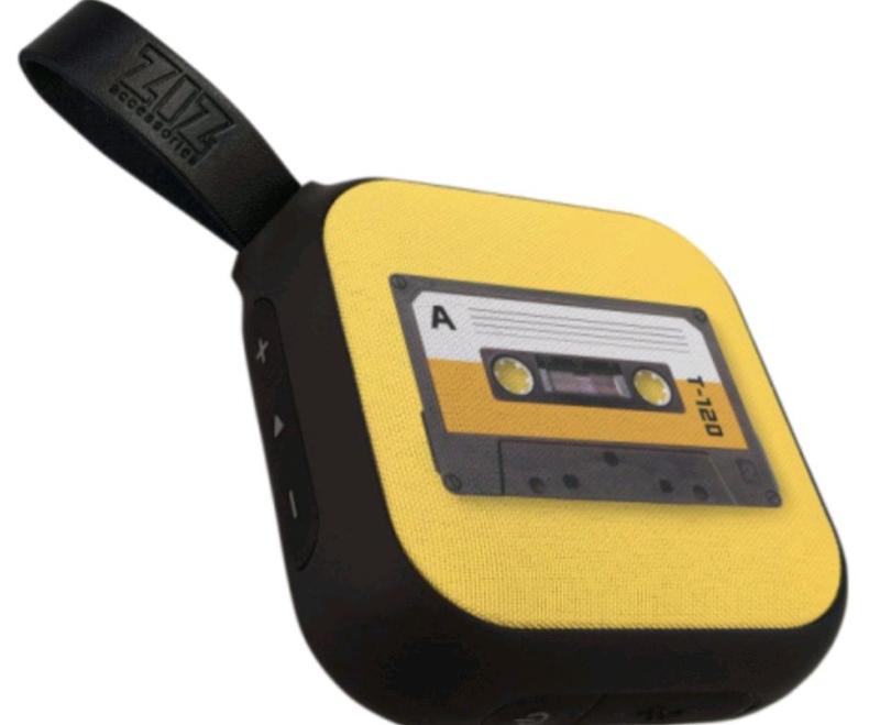 Портативная колонка Bluetooth ZIZ Кассета (52027)