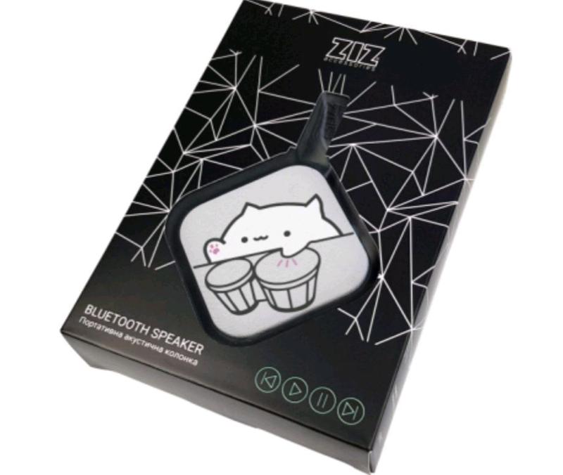 Портативная колонка Bluetooth ZIZ Бонго кот (52012) - Фото 3