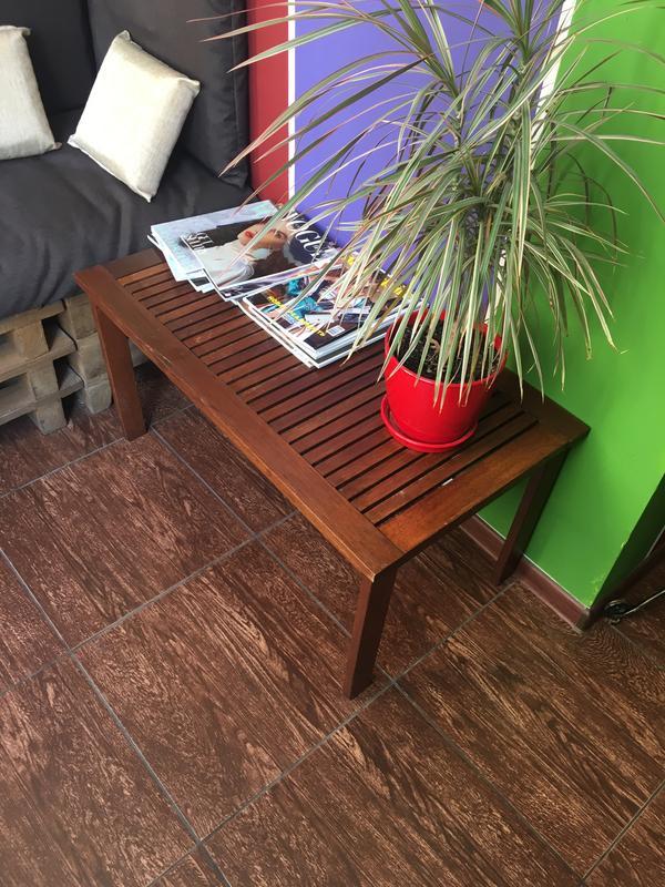 Кофейный столик с лавочкой набор - Фото 2