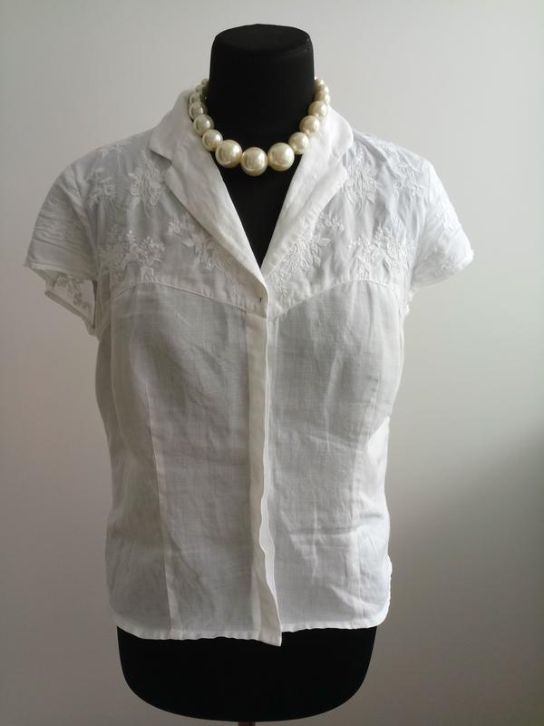 Натуральна класическая блузка от minuet