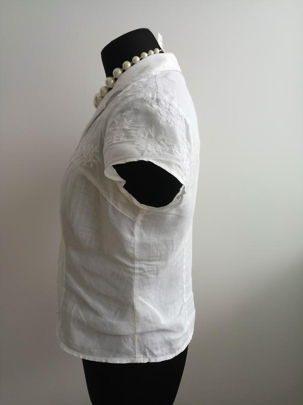 Натуральна класическая блузка от minuet - Фото 4