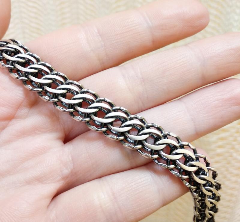 Массивный браслет 23 размера. серебро - Фото 5