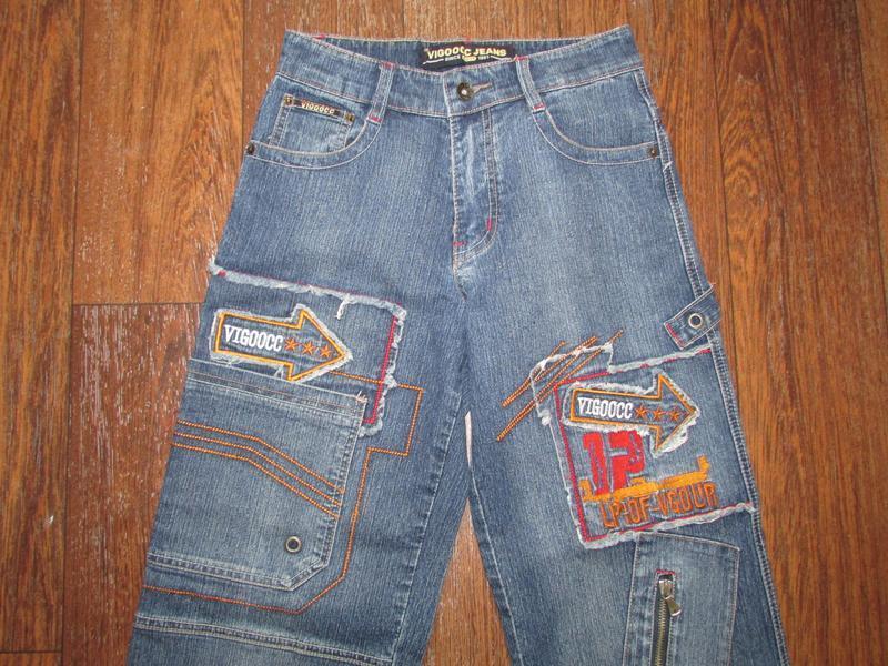 Брендовые джинсы vigoocc. оригинал!  р-р 26